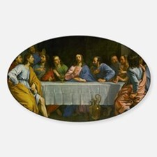 The Last Supper Sticker (Oval)