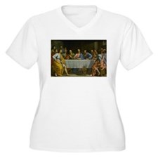 The Last Supper Plus Size T-Shirt