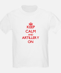 Keep Calm and Artillery ON T-Shirt