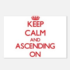 Keep Calm and Ascending O Postcards (Package of 8)