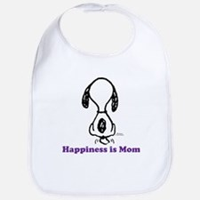 Happiness is Mom Tailwag Bib