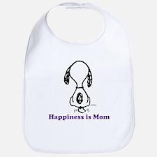 Happiness is Mom Tailwag Bib