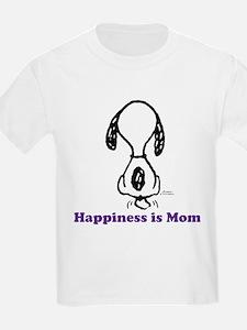 Happiness is Mom Tailwag T-Shirt