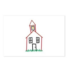 Schoolhouse Postcards (Package of 8)