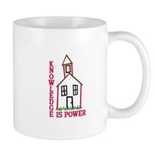 Knowledge Is Power Mugs