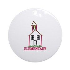 Elementary Ornament (Round)