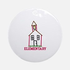 Elementary Ornament (Round)