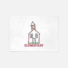 Elementary 5'x7'Area Rug