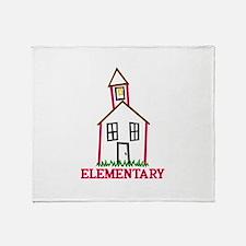 Elementary Throw Blanket