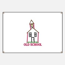 Old School Banner