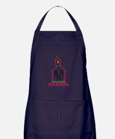Old School Apron (dark)