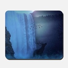 Wildlife and Waterfalls Mousepad