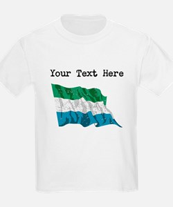 Sierra Leone Flag (Distressed) T-Shirt