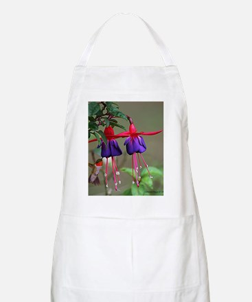 Fuchsia and Hummingbird  Apron