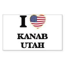 I love Kanab Utah Decal