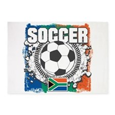 South Africa Soccer 5'x7'Area Rug