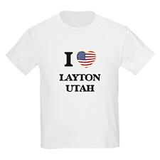I love Layton Utah T-Shirt