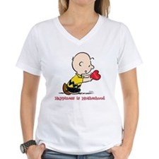 Charlie Brown - Happiness is Motherhood T-Shirt