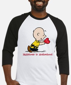 Charlie Brown - Happiness is Motherhood Baseball J