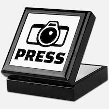 Press camera Keepsake Box