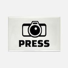Press camera Rectangle Magnet