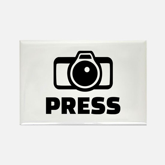 Press camera Rectangle Magnet