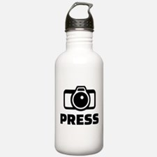 Press camera Water Bottle
