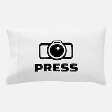 Press camera Pillow Case