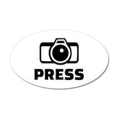 Press camera Wall Sticker