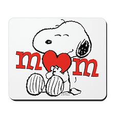 Snoopy Mom Hug Mousepad