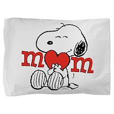 Snoopy Mom Hug Pillow Sham