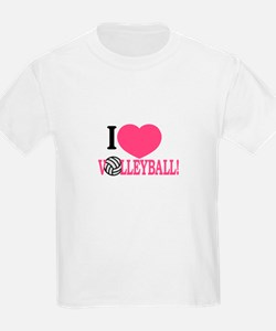 I Love Volleyball! T-Shirt