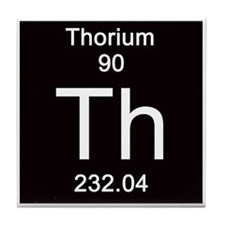 90. Thorium Tile Coaster