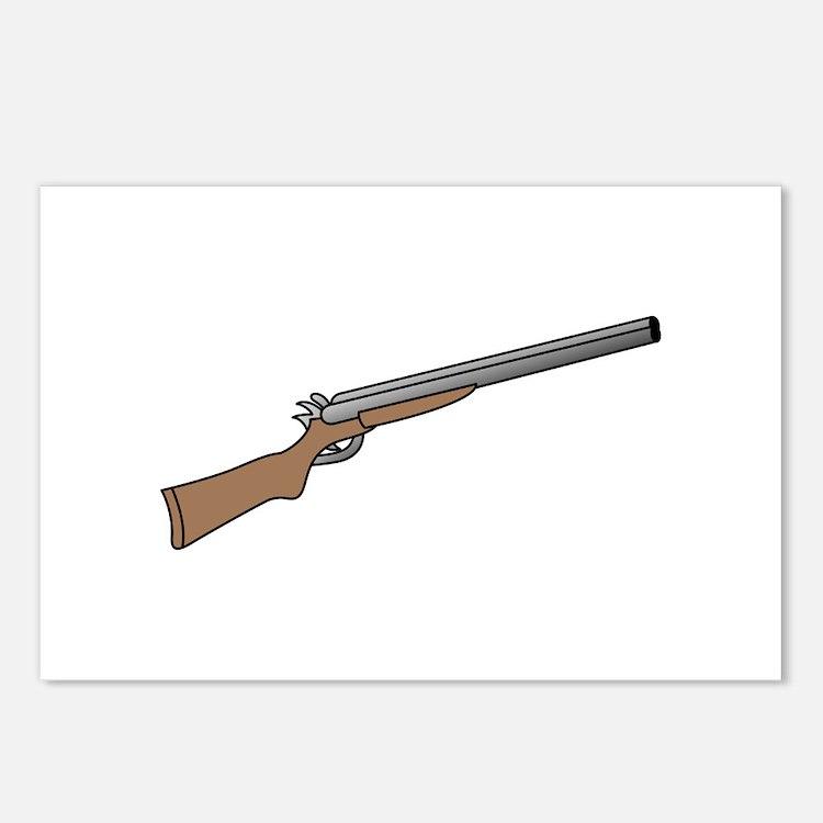 Shotgun Postcards (Package of 8)