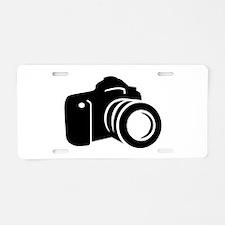 Photo reflex camera Aluminum License Plate