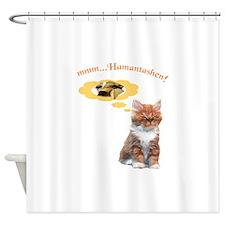 Mmmm...Hamantashen Shower Curtain