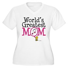 Woodstock - World's Greatest Mom Plus Size T-S