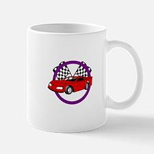 Race Car Logo Mugs