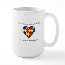 autism heart Mug