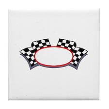 Racing Logo Tile Coaster