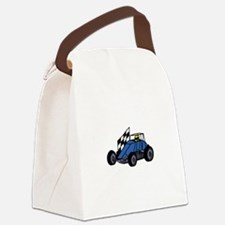 Non-Winged Sprint Car Canvas Lunch Bag