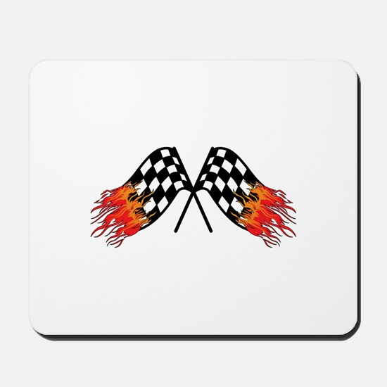 Hot Crossed Flags Mousepad