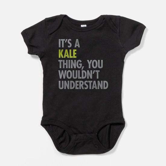 Kale Thing Baby Bodysuit