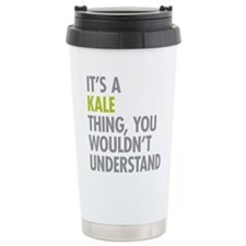 Kale Thing Thermos Mug