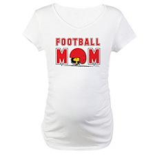 Woodstock Football Mom Maternity T-Shirt