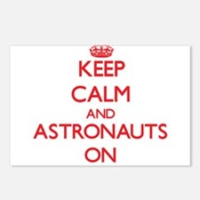 Keep Calm and Astronauts Postcards (Package of 8)