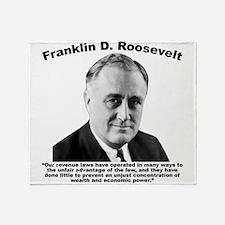 FDR: Wealth Throw Blanket