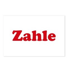 Zahle Postcards (Package of 8)