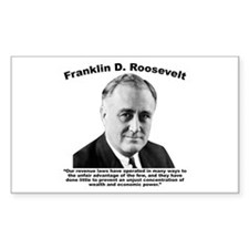 FDR: Wealth Decal