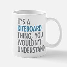 Kiteboard Thing Mugs
